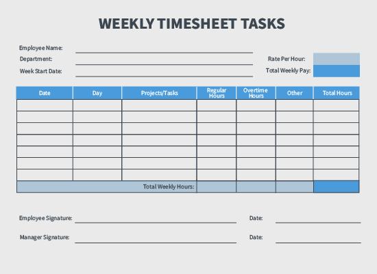 Payroll Calculation Worksheet
