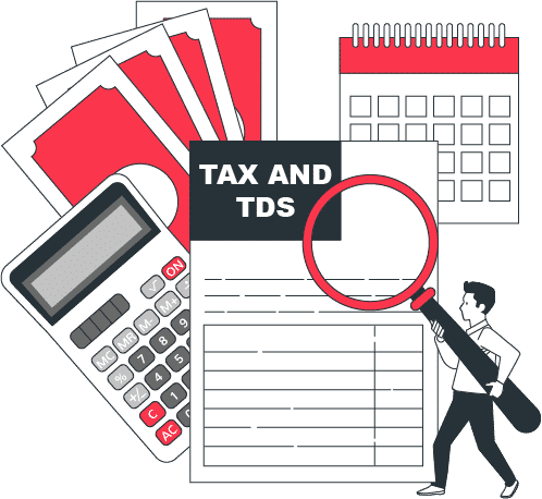 Tds on processing fees - Tax Management